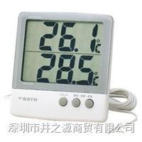 1060-00数字式温湿度表,PC-6800温湿度记录仪,日本SATO电子式温湿度仪 PC-6800/1060-00