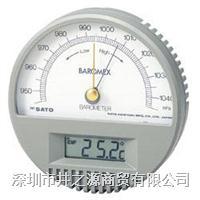 7612-00室内温度计,日本SATO数显温度计,便捷式温度计,指针温度计 7612-00