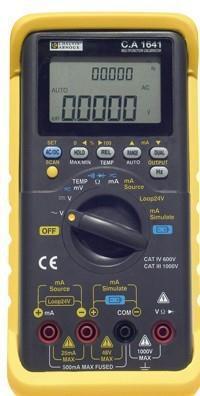 CA1641多功能过程校验仪|法国CA多功能校验仪 CA1641校验仪