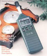数字式溫湿度计TES-1360A