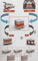 车载式卫生应急现场作业平台 SENBE