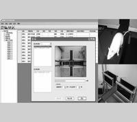 高架十字迷宮實驗視頻分析系統 DB015