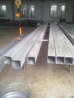 泰州亚洲城钢管厂生产无磁、力学性能标准的无缝不锈钢方矩形管