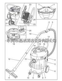 商用吸塵吸水機