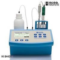 HANNA哈纳HI84431微电脑总碱度滴定分析仪