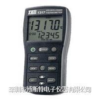 泰仕TES-1317白金电阻温度表 TES-1317