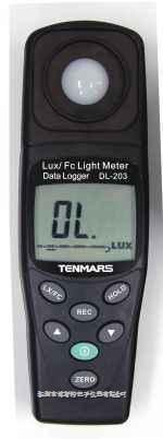 台湾泰玛斯TM-205数字照度计 TM-205