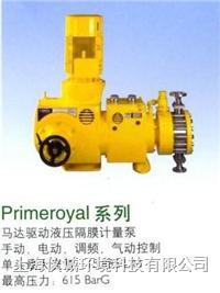 Miltonroy高性能液压隔膜计量泵 PL.149