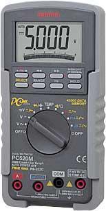 日本三和Sanwa数字万用表PC-520M|日本三和万用表PC-520M PC-520M