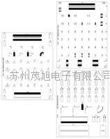 差分射頻校準片 DIFFERENTIAL CALIBRATION SUBSTRATES