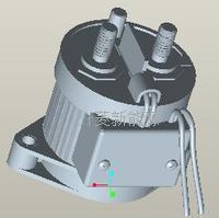 250A高压直流接触器/EV继电器/高压直流继电器 DC-250A/900VDC