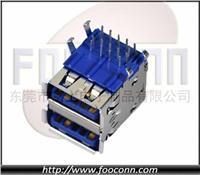 USB 3.0 AF 双层90度插板|USB 3.0 A母 双层90度插板|USB 3.0 AF90度插板|USB 3.0 双层90度插板母头|USB 3.0 USB 3.0 AF 双层90度插板