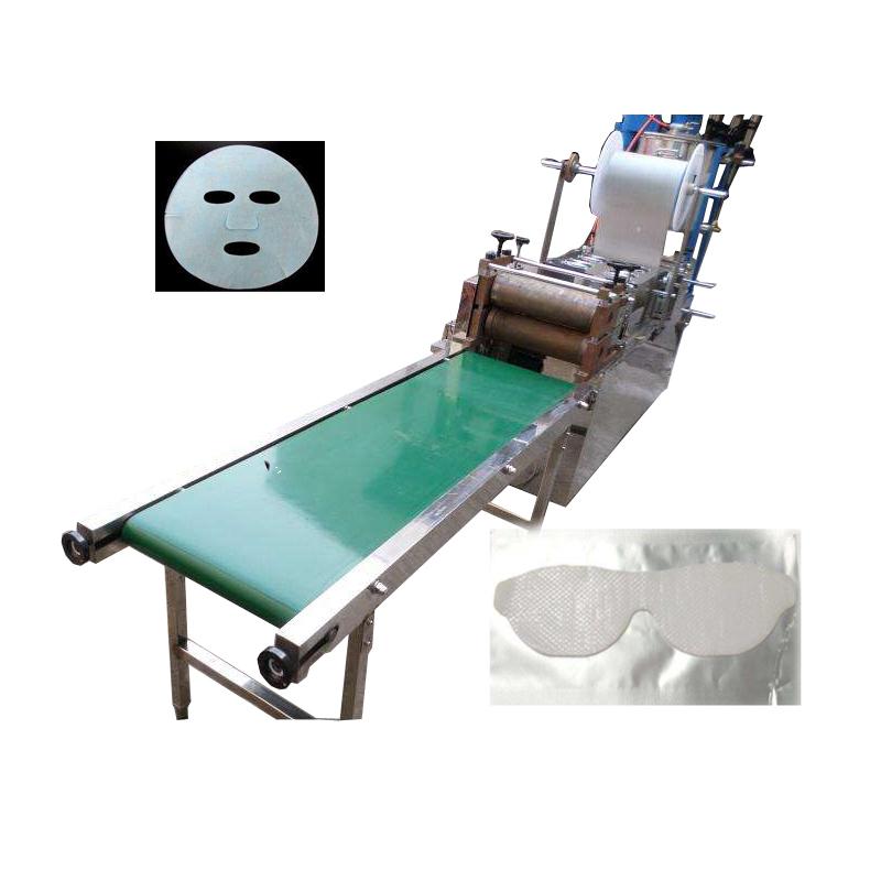 水晶面膜涂布机 蚕丝水晶眼贴膜面膜生产设备