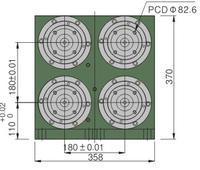 SR60雙層四軸精密主軸頭
