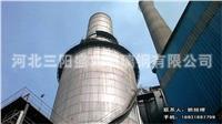 电厂大型脱硫塔安装