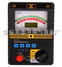 智能双显绝缘电阻测试仪 BC2000