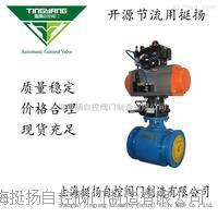 气动氧化锆球阀 Q641TC