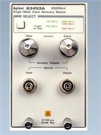 销售回收Agilent83494A单一模式时钟恢复插件模块