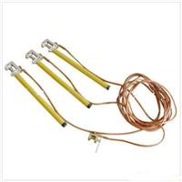 发电机接地线,平口螺旋压紧式携带接地线,400v接地线 JDX