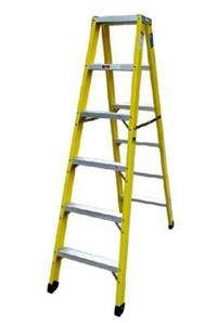 高压电工作业绝缘梯子,电力绝缘单梯厂家