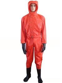 优质消防防化服半封闭式防化服 LWS-0037