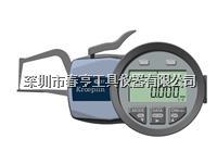 进口德国KROEPLIN古沃匹林数显壁厚卡规C1R10S范围0-10外卡规645E-103 C1R10S