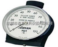 进口奥斯卡ASKER高分子橡胶邵氏硬度计C型测量软质橡胶 C