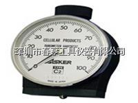 日本橡胶硬度计C2进口邵氏硬度计一般用于比C型软的橡胶硬度测量上海特价 C2