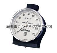 日本ASKER橡胶硬度计JC型进口邵氏硬度计总代理  JC