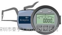 德国KROEPLIN古沃匹林壁厚测量卡规C1R10范围0-10外卡规645E-101 C1R10