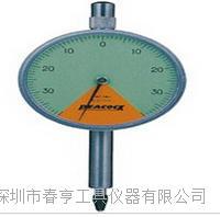 进口孔雀PEACOCK指针比测型百分表107Z-XB分度值0.01范围0.8mm 107Z-XB