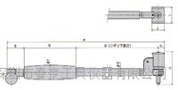 进口日本孔雀PEACOCK测通孔缸径规CC-6测量范围250-400四川特价 CC-6