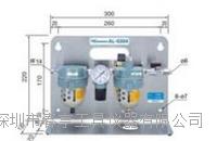 进口气动主轴马达专用空气过滤器AL-M1202自带滴油装置北京特价 AL-M1202