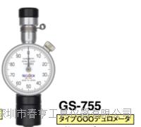 优势供应日本得乐TECLOCK硬度计GS-755邵氏橡胶硬度计 GS-755