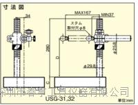 优势供应进口得乐TECLOCK进口量表台架USG-32恒压测定台 USG-32