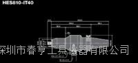 进口高速精密主轴HES810-IT40转速80000转CNC专用主轴 HES810-IT40
