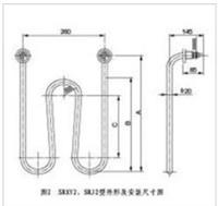 SRXY2型管状电加热元件(硝酸溶液加热器) SRXY2型