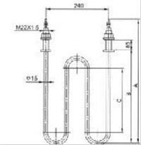 SRQ2空气型加热器  SRQ2