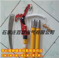 4米组合式绝缘高压枝剪 JGZ-2型4米/10kv