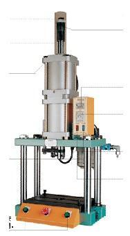 生产四柱式气动冲床,气动压机