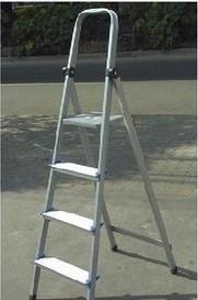 家用梯 扶梯 楼梯 折叠梯 铝合金梯子 步步高牌梯具 4步5步