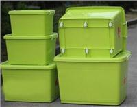 耐摔塑料衣物整理箱储物箱