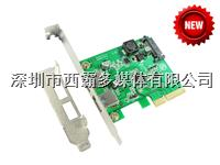 樂擴 PCI-E轉2口 USB3.1擴展卡 IO-PCE1142-2A