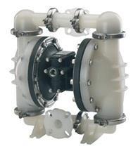 """1.5""""氣動隔膜塑料泵"""