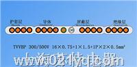 TVVB單芯排列帶屏蔽扁形電梯電纜