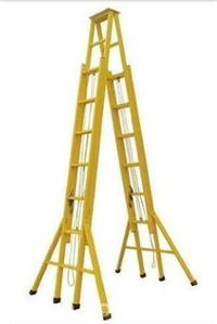ST电工梯子,高压线检修绝缘梯,带电作业单梯 ST