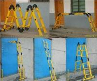ST黄色绝缘梯,电工梯子制造厂家,防静电人字梯 ST