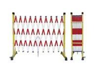 HT-076玻璃钢片式伸缩围栏 红白相间管式安全围栏 绝缘围栏 HT-076