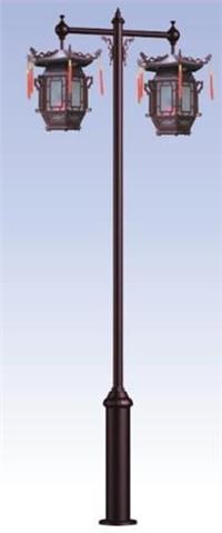因为仿古灯多为实木框架雕刻,所以日常使用中应注意防潮防蛀,以免造成