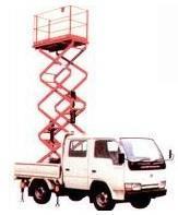 车载式升降机 车载式升降机